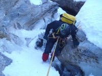 Journée ice canyoning