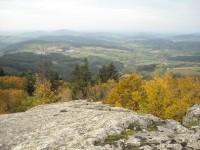 Balade roches mystérieuses Beaujolais Rhône