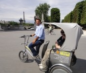 Paris en tricycle: Monuments principaux