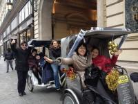 Le quartier Latin en vélotaxi