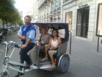 La révolution Française en vélotaxi