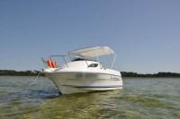 Navigation sur le lac de Biscarrosse