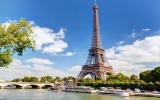 Paris flash: Tour + crociera Tour Eiffel  Cattedrale Notre-Dame / Louvre /   ITALIANO (4H)