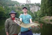 Guidage de pêche, spécialité carnassiers en bateau.