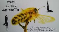 Yoga au son des abeilles