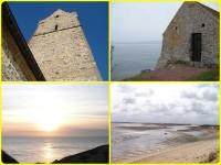 La côte des havres du Cotentin